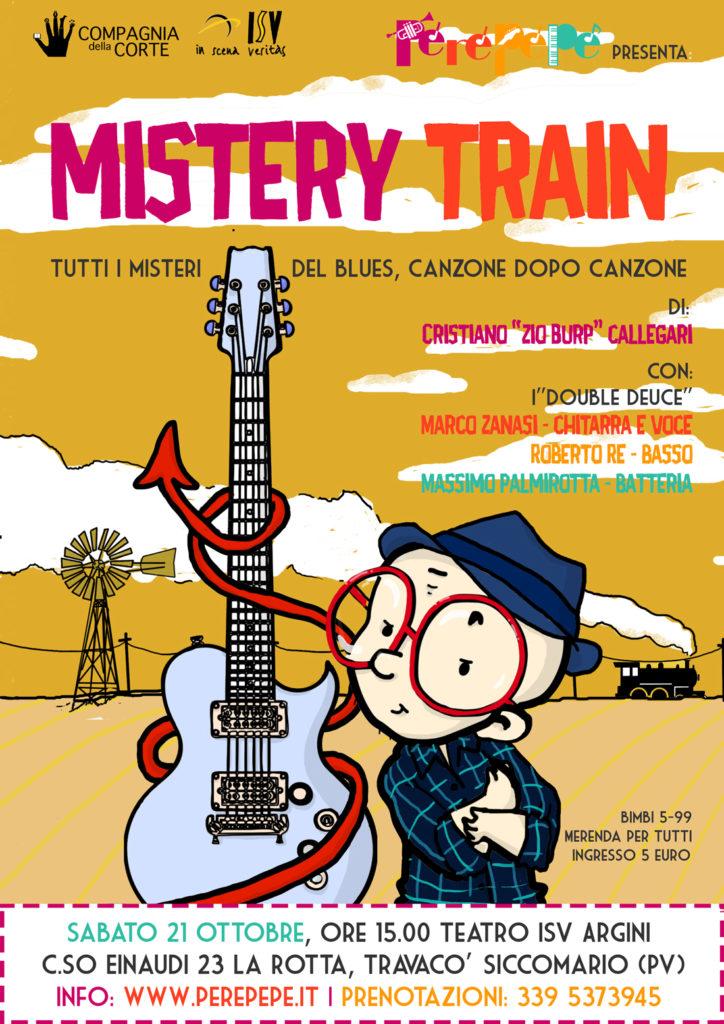 Perepepe Mistery Train Pavia 21 ottobre